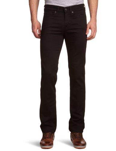 7-for-all-mankind-herren-slim-jeanshose-gr-w30-l33-schwarz-jacksonville-black-jv