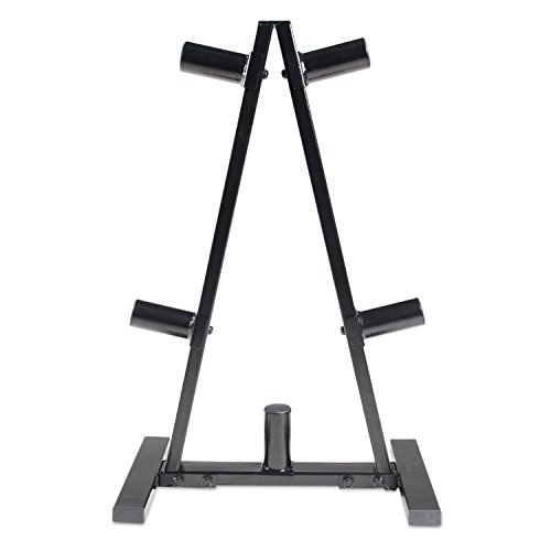 CAP Barbell RK-2BB A Frame Olympic Plate Rack, Black (Weight Rack Plates compare prices)