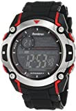 Armitron Men's 408232RED Sport Chronograph Black Resin Strap Watch