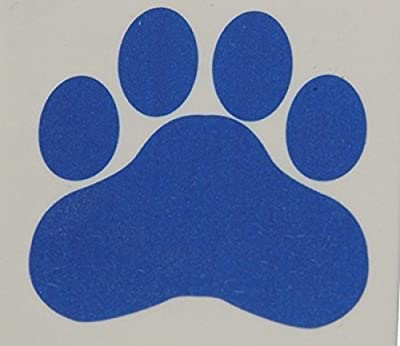 "happy deals - Blue Paw Print Temporary Tattoos, Lot Of 144, Size 1.5"" x 1.5"""