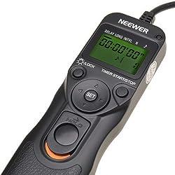 Neewer Timer Remote for Canon 50D, 40D, 30D, 20D, 10D, 5D,1Ds Mark III, 1D Mark III, 1D Mark II N, 1Ds Mark II,1D, 1V, EOS 3, D2000