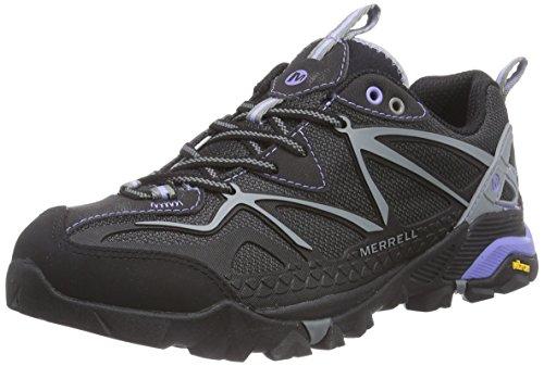 Merrell - Capra Sport, Scarpe Da Trekking da donna, nero (black/grey), 40