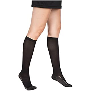 2 Pair EvoNation Women's Copper USA Made Graduated Compression Socks