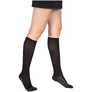 2 Pair EvoNation Women's Copper USA Made Graduated Compression Socks