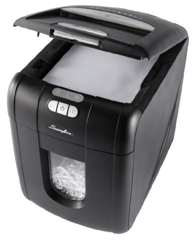 Swingline Stack-and-Shred Automatic Shredder (EX100-07)