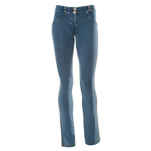 FREDDY Pantalone Donna WRUP 3LA1E Aderente Lungo Push Up Jeans Gamba Dritta (XS)