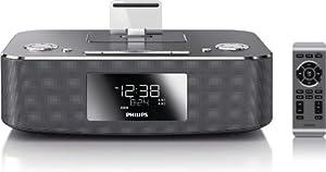Philips DC291 Radio réveil avec Station d'accueil pour iPod/iPhone/iPad