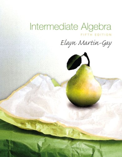 Intermediate Algebra (5th Edition)