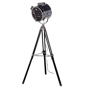 spotlight tripod floor lamp three legged kitchen home. Black Bedroom Furniture Sets. Home Design Ideas
