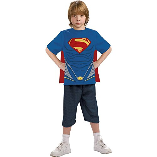 Man of Steel: Superman T-Shirt Kids Costume