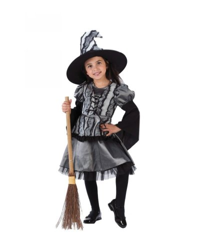 Goth Rose Witch Child Costume