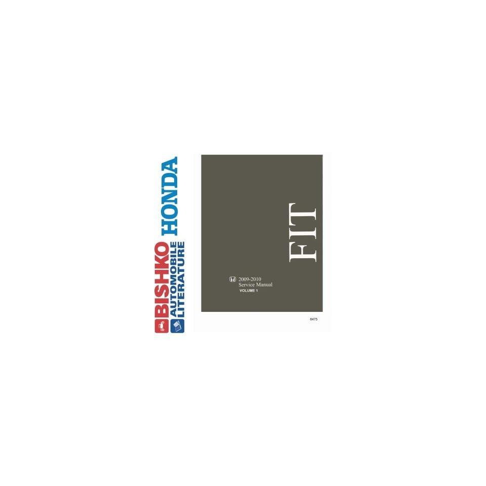 2009 2010 Honda Fit Shop Service Repair Manual Book Engine Drivetrain Wiring OEM