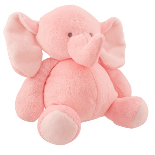 Carters Little Layette Baby Sweet Plush Elephant, Pink front-170834