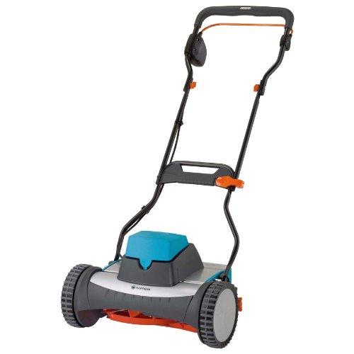Gardena 4026-U 15-Inch 12-Volt Cordless Electric Reel Lawn Mower, 380AC image