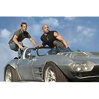 ポスター A4 パターB ポール・ウォーカー 「ワイルド・スピード MEGA MAX」 光沢プリント