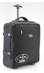 """Barcelona + NEW 20""""x16""""x8"""" inches Multi function Trolley and Backpack Carry-On Hand Luggage - Lightweight 4lbs"""