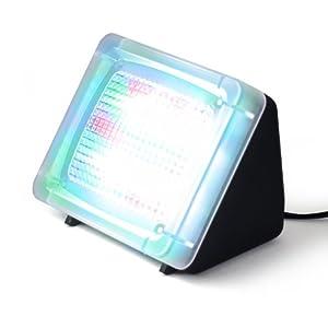 CSL - LED TV Simulator   Fernseh Attrappe-Fake / Einbruchschutz / Home Security   20 farbige LED's   3 Programme   Lichtsensor und Timer