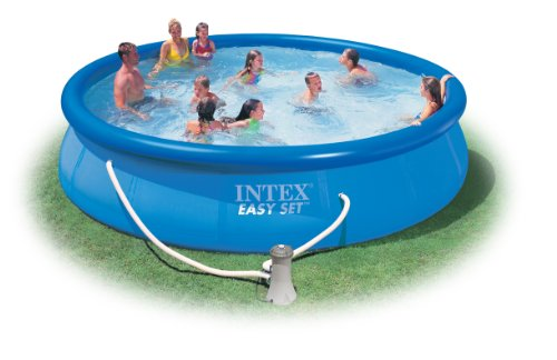 Intex pool komplett set intex easy set pool 457x91cm - Piscina gonfiabile amazon ...