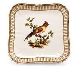 Buy Birds Of Beauty Stoneware Serving Tray/Platter Fine Dining Decorative Kitchen Decor