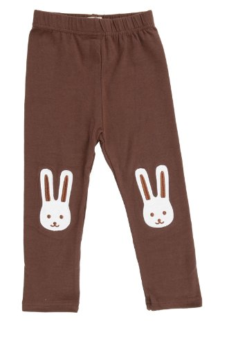 Baby Girl Legging Warmers, Coffee front-972825