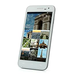 iDroid Tango A5 White No Contract Phone - Retail Packaging (GSM Service)