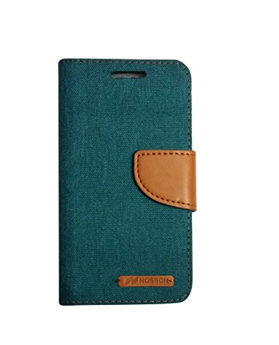 Nosson Fancy Flip Cover For HTC Desire 816 (Green)