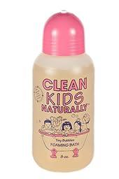 Clean Kids Naturally Tiny Bubbles Foaming Bath 8 oz