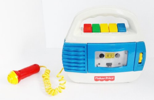 Fisher Price Cassette Player And Recorder Microphone