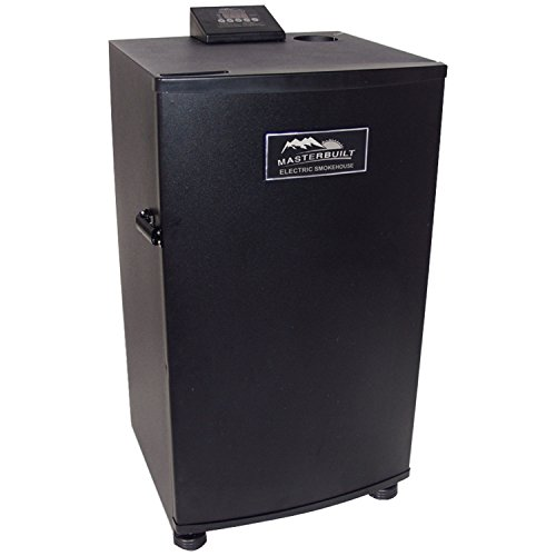Masterbuilt 20070910 30-Inch Black Electric Digital Smoker, Top Controller (Bradley Smoker Bs611 compare prices)