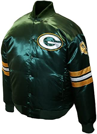 NFL Mens Green Bay Packers Prime Satin Jacket by MTC Marketing, Inc