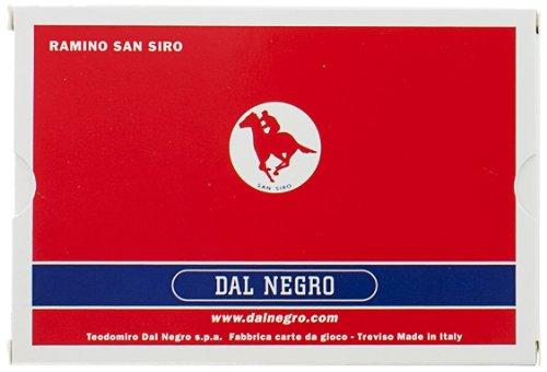 Dal Negro 20005 - Ramino S. Siro Doppio, Carte da Gioco