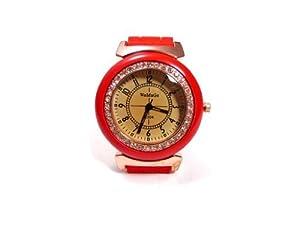Unisex Watch Poppy - Red [Watch]