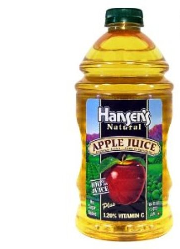 41qXluMZBqL Hansen Beverage 100% Apple Juice, 64 Ounce Bottles (Pack of 8)