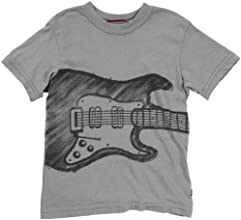 City Threads Little Boys39 Electric Guitar Tee ToddlerKid Road Gray