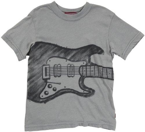 City Threads Big Boys' Electric Guitar Tee (Toddler/Kid) - Road Gray - 10