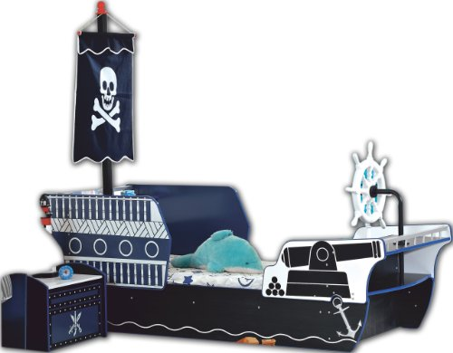 Kinderzimmer als piratenzimmer einrichten - Piratenbett kinderzimmer ...