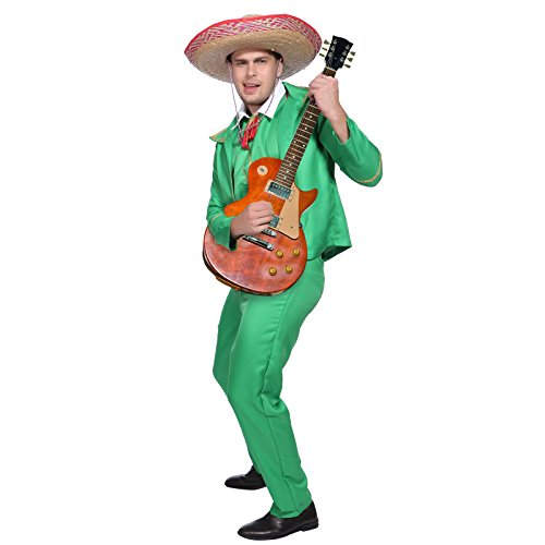 Doritos Style Mexican Tortilla Guy Mariachi Band Costume Fancy dress