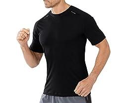 Smartwool PhD Ultra Light Short Sleeve - Men\'s Black Large