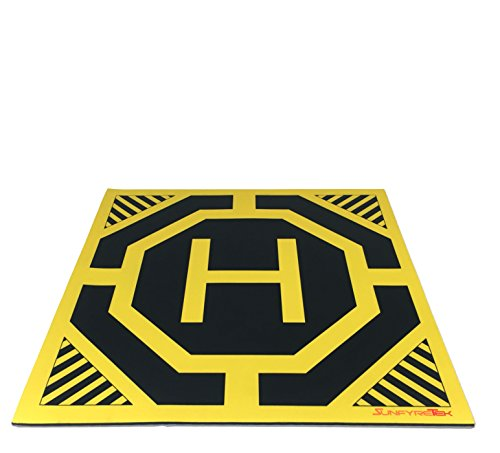 Ultra Sleek and Stylish RC Remote Control Helicopter Drone Landing Pad Helipad 12-inch by 12-inch (Blade 500x Helicopter compare prices)
