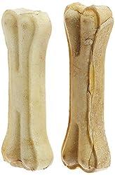 Choostix Pressed Dog Bone, Small  (5-inch x 2 Pieces)