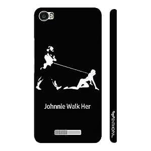 Enthopia Designer Hardshell Case Johnnie's S&M Back Cover for Lava Iris X8