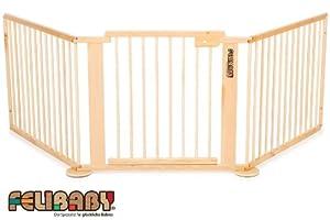 ONE4all 1+2- Barrera de seguridad para puertas y escaleras, sistema modular y flexible. - BebeHogar.com