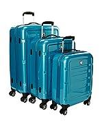 Roncato Set de 3 trolleys rígidos (Cielo)