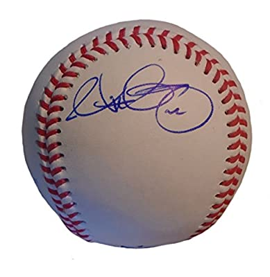 Matt Garza Autographed / Signed ROLB Baseball w/ Proof Photo, Milwaukee Brewers, Texas Rangers, Chicago Cubs, Tampa Bay Rays, Minnesota Twins, COA