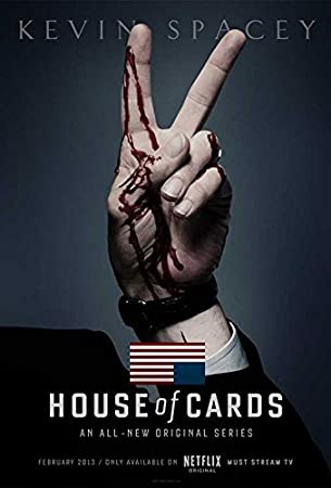 House of Cards (TV) Movie Poster 11 x 17 Style C (2014) Unframed