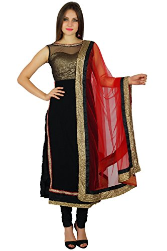 atasi frauen net gerade kurti salwaar kameez mit dupatta ready made custom clothing indische. Black Bedroom Furniture Sets. Home Design Ideas