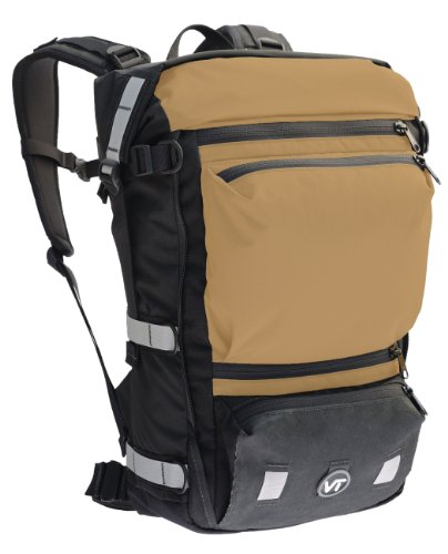 Velo Transit Men's Quintessential 30 Waterproof Bicycle Commuter Backpack (Sand, Medium)