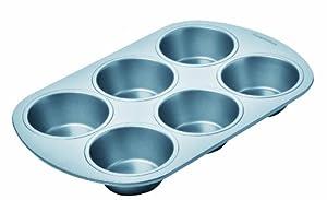 Chicago Metallic Betterbake Non-Stick 6-Cup Regular Muffin Pan by CHICAGO METALLIC
