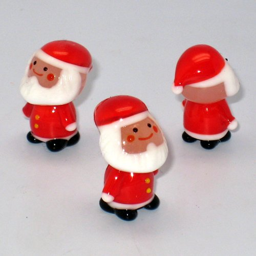 Glassworks - Happy Santa Standing] No.3203
