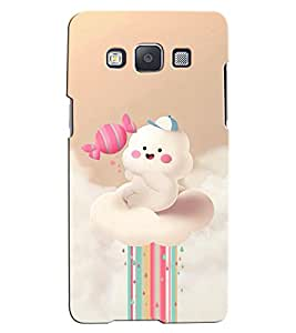 Citydreamz Rainbow\Clouds Hard Polycarbonate Designer Back Case Cover For Samsung Galaxy J5